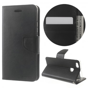 Pouzdro Goospery Bravo Diary pro Huawei P9 Lite - černé
