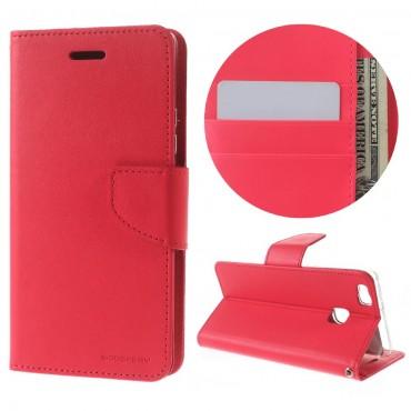 Kryt Goospery Bravo Diary pro Huawei P9 Lite - purpurový