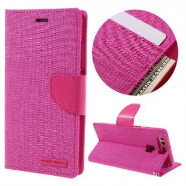Kryt Goospery Canvas Diary pro Huawei P9 Lite - růžový