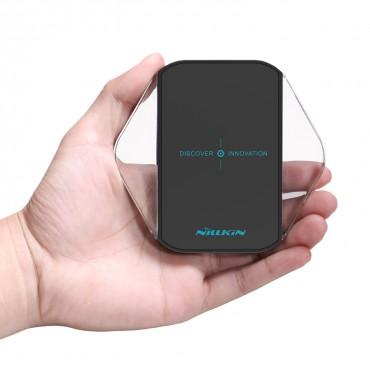 Nabíjecí stanice Nillkin Magic Cube pro všechna mobilní zařízení s technologií QI - černá