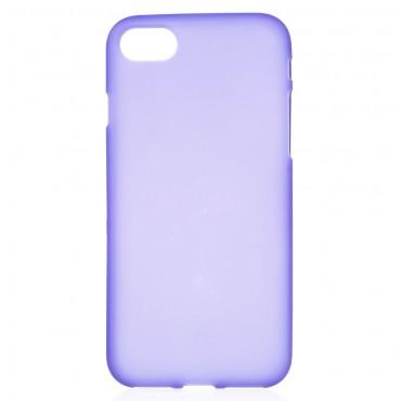 TPU gelový obal pro iPhone 8 / iPhone 7 - fialový