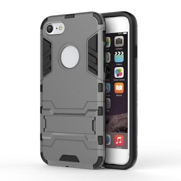 """Robustní obal """"Impact X"""" pro iPhone 8 / iPhone 7 - šedý"""