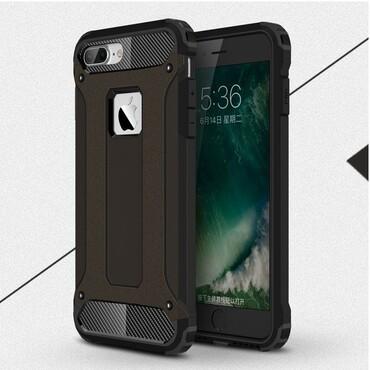 """Robustní obal """"Rock"""" pro iPhone 7 - černý"""