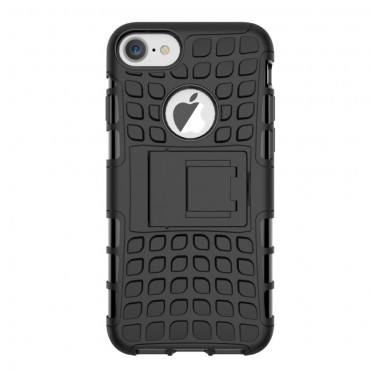 "Robustní kryt TPU ""Tough"" pro iPhone 8 / iPhone 7 - černý"