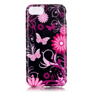 "TPU gelový obal ""Flower World"" pro iPhone 8 / iPhone 7"