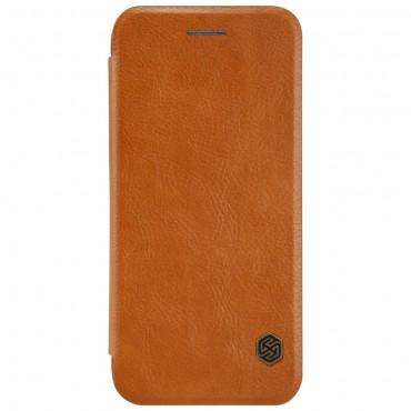 """Elegantní pouzdro """"Qin"""" pro iPhone 8 / iPhone 7 - hnědé"""