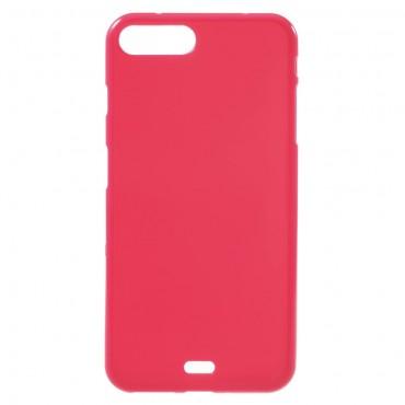 TPU gelový obal pro iPhone 8 Plus / iPhone 7 Plus - purpurový