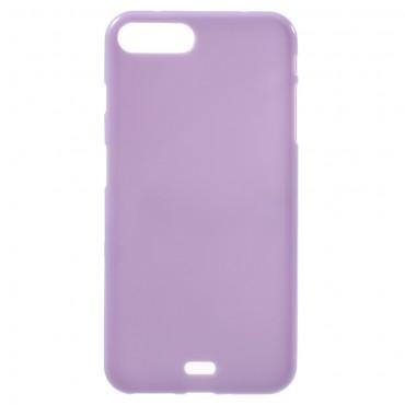 TPU gelový obal pro iPhone 8 Plus / iPhone 7 Plus - fialový