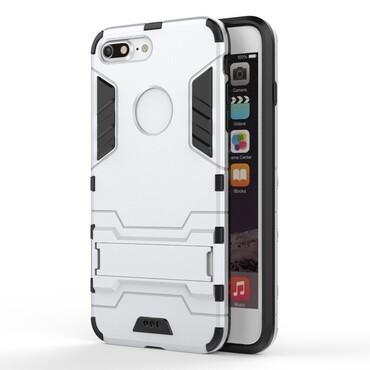 "Robustní obal ""Impact X"" pro iPhone 7 Plus - stříbrný"