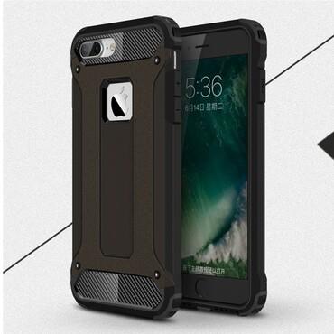 """Robustní obal """"Rock"""" pro iPhone 7 Plus - černý"""