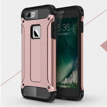 """Robustní kryt """"Rock"""" pro iPhone 8 Plus / iPhone 7 Plus - růžové"""