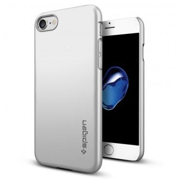 """Kryt Spigen """"Thin Fit"""" pro iPhone 7 - satin silver"""