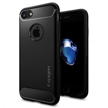 "Obal Spigen ""Rugged Armor"" pro iPhone 8 / iPhone 7 - černý"