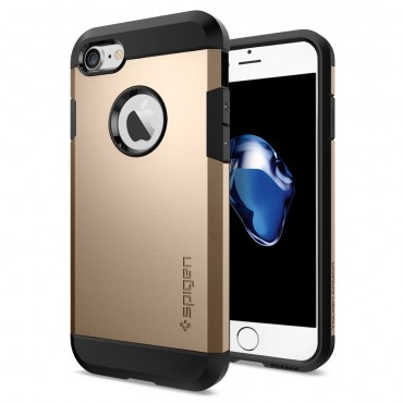 "Kryt Spigen ""Tough Armor"" pro iPhone 7 - champagne gold"