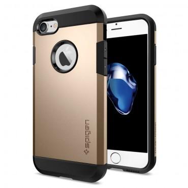"""Obal Spigen """"Tough Armor"""" pro iPhone 7 - šampaňská zlatá"""