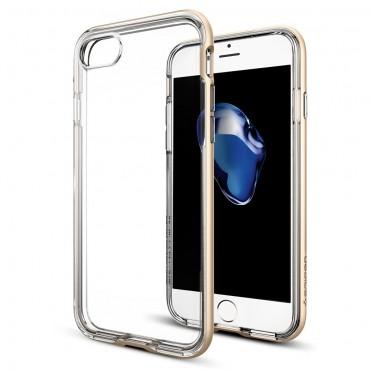 """Obal Spigen """"Neo Hybrid Crystal"""" pro iPhone 7 - šampaňská zlatá"""
