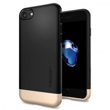 """Obal Spigen """"Style Armor"""" pro iPhone 7 - černý"""