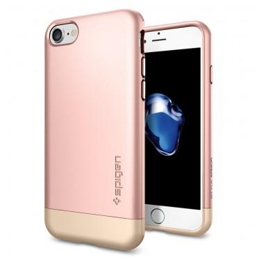 "Kryt Spigen ""Style Armor"" pro iPhone 7 - rose gold"