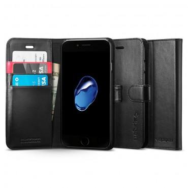 """Pouzdro Spigen """"Wallet S"""" pro iPhone 7 - black"""
