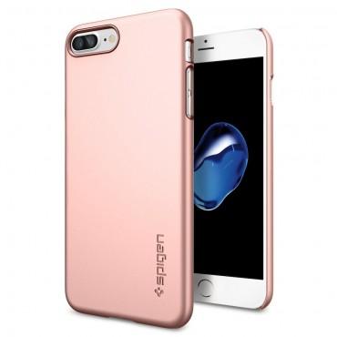 """Obal Spigen """"Thin Fit"""" pro iPhone 8 Plus / iPhone 7 Plus - růžově zlatý"""