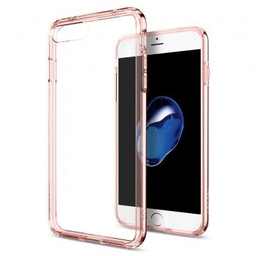 "Kryt Spigen ""Ultra Hybrid"" pro iPhone 8 Plus / iPhone 7 Plus - rose crystal"