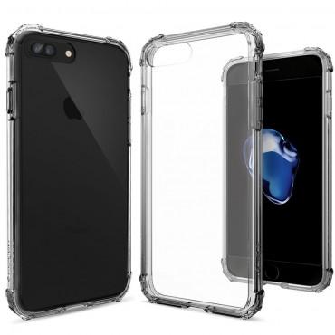 "Obal Spigen ""Crystal Shell"" pro iPhone 8 Plus / iPhone 7 Plus - tmavý křišťál"