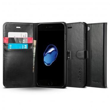"""Pouzdro Spigen """"Wallet S"""" pro iPhone 7 Plus - black"""