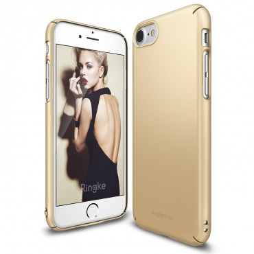 "Kryt Ringke ""Slim"" pro iPhone 7 - royal gold"