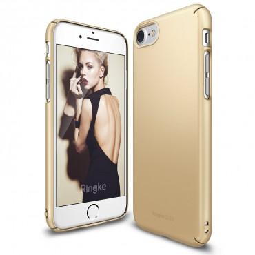 """Obal Ringke """"Slim"""" pro iPhone 8 / iPhone 7 - královsky zlatý"""