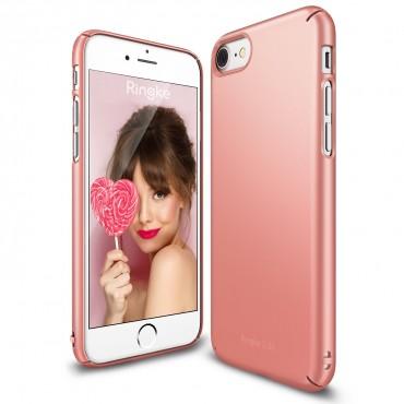 """Obal Ringke """"Slim"""" pro iPhone 8 / iPhone 7 - leskle - růžově zlatý"""