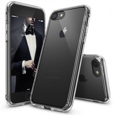 """Obal Ringke """"Fusion"""" pro iPhone 8 / iPhone 7 - křišťálově jasný"""