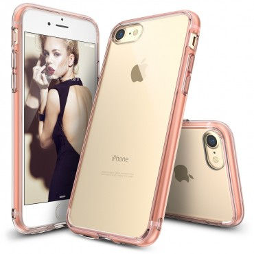 "Kryt Ringke ""Fusion"" pro iPhone 8 / iPhone 7 - rose gold crystal"