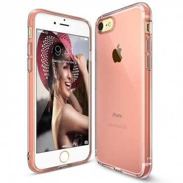 "Kryt Ringke ""Air"" pro iPhone 8 / iPhone 7 - rose gold crystal"