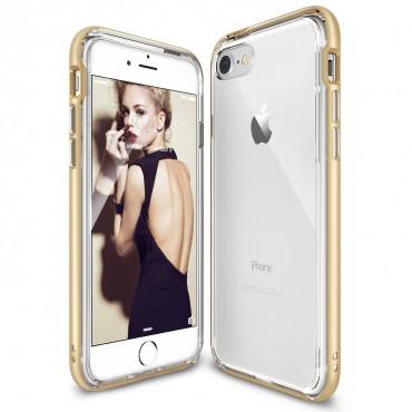 """Kryt Ringke """"Frame"""" pro iPhone 7 - royal gold"""