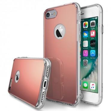 """Obal Ringke """"Fusion Mirror"""" pro iPhone 7 - růžově zlatý zrcadlový"""
