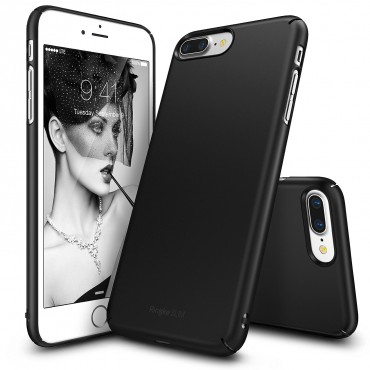 "Kryt Ringke ""Slim"" pro iPhone 7 Plus - sf black"