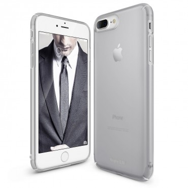 "Kryt Ringke ""Slim"" pro iPhone 8 Plus / iPhone 7 Plus - frost gray"