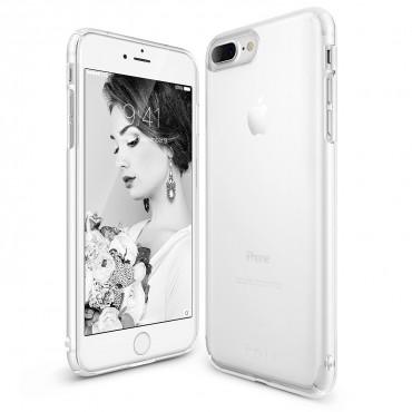 "Obal Ringke ""Slim"" pro iPhone 8 Plus / iPhone 7 Plus - mrazivě bílý"