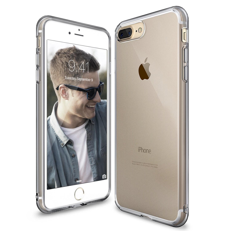 """Kryt Ringke """"Air"""" pro iPhone 8 Plus / iPhone 7 Plus - smoke black"""