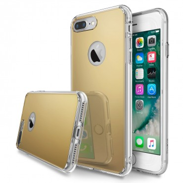"Kryt Ringke ""Fusion Mirror"" pro iPhone 7 Plus - mirror royal gold"