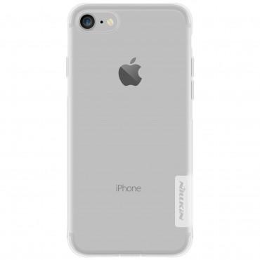 """Prémiový tenký obal """"Nature"""" pro iPhone 8 / iPhone 7 - průhledný"""