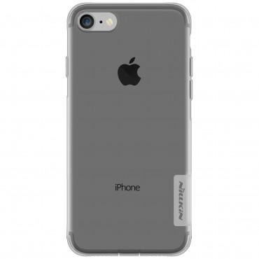 "Premium tenký kryt ""Nature"" pro iPhone 8 / iPhone 7 - šedý"