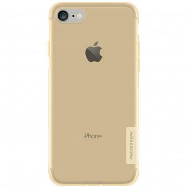 "Premium tenký kryt ""Nature"" pro iPhone 8 / iPhone 7 - zlatý"