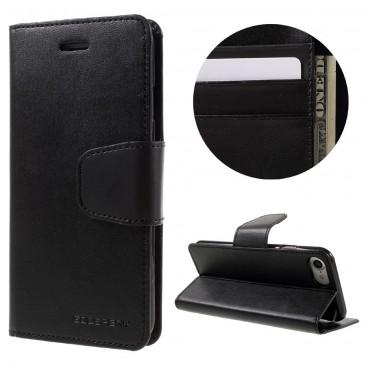 Elegantní pouzdro Goospery Sonata pro iPhone 8 / iPhone 7 - černé