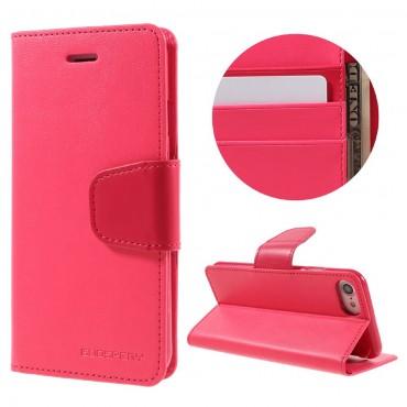Elegantní kryt Goospery Sonata pro iPhone 8 / iPhone 7 - purpurový
