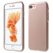 Kryt TPU gel Goospery iJelly Case pro iPhone 8 Plus / iPhone 7 Plus - růžový