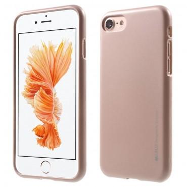 TPU gelový obal Goospery iJelly Case pro iPhone 8 Plus / iPhone 7 Plus - růžový