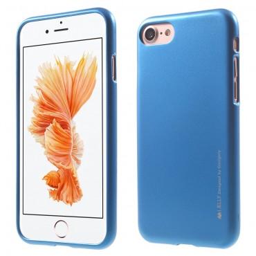 Kryt TPU gel Goospery iJelly Case pro iPhone 8 Plus / iPhone 7 Plus - modrý