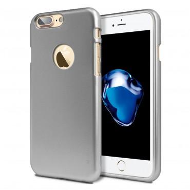 TPU gelový obal Goospery iJelly Case Logo iPhone 7 Plus - šedý