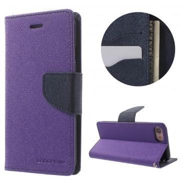 Pouzdro Goospery Fancy Diary pro iPhone 8 Plus / iPhone 7 Plus - fialový